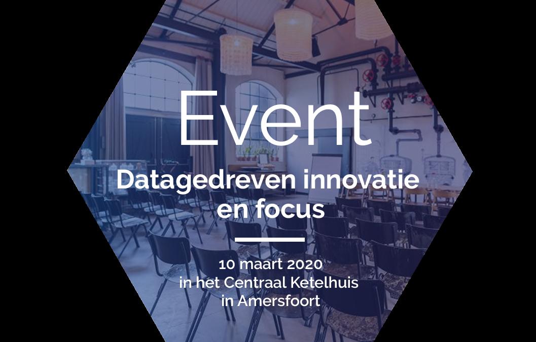 Nieuw event – Datagedreven innovatie en focus